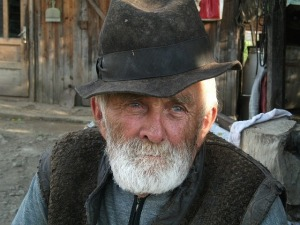 old man.black hat