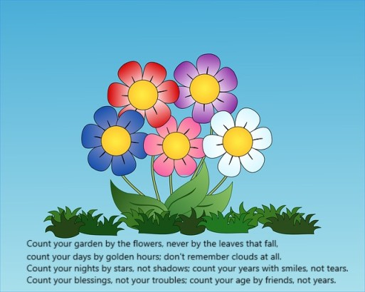 Flowers poem