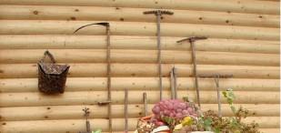 Cabin wall.
