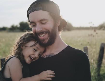 Dad + child