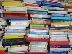 Books in stack