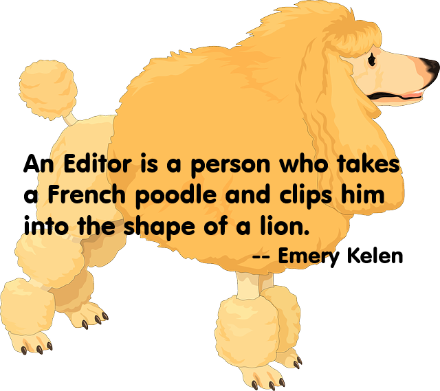 poodle.lion + quote