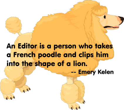 poodle.lion + quote