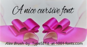 Dance Shoes + font