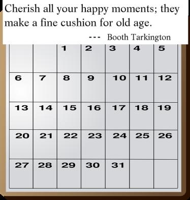 Calendar.Happy M.
