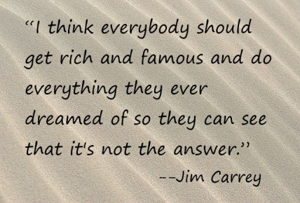 Sand.JCarrey quote