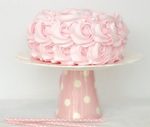 Pink Cake.Terri Cnuddle