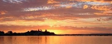 Sunset.David Mark